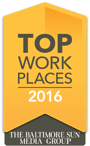 Baltimore Sun Top Workplace 2016